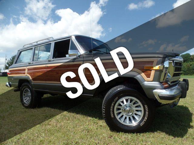 Jeep Grand Wagoneer For Sale >> 1990 Jeep Grand Wagoneer 4dr Wagon 4wd Wagon For Sale Johnstown Pa 39 900 Motorcar Com
