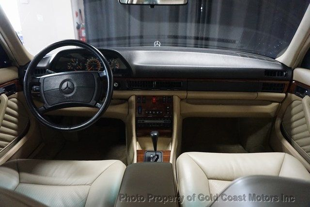 1990 Mercedes-Benz 420 Series 420 Series 4dr Sedan 420SEL - Click to see full-size photo viewer