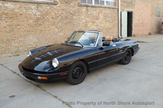 1991 Alfa Romeo Spider 2dr Coupe Spider - Click to see full-size photo viewer