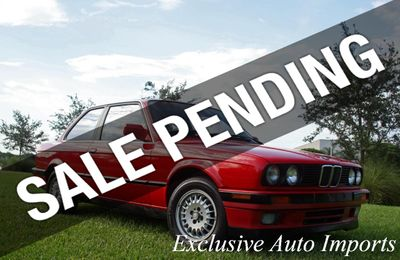 1991 BMW 3 Series 1991 BMW 325i E30 COUPE ULTRA LOW MILES