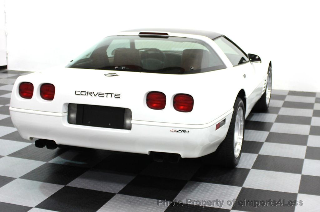 1991 Chevrolet Corvette CORVETTE ZR-1 COUPE - 16417235 - 13