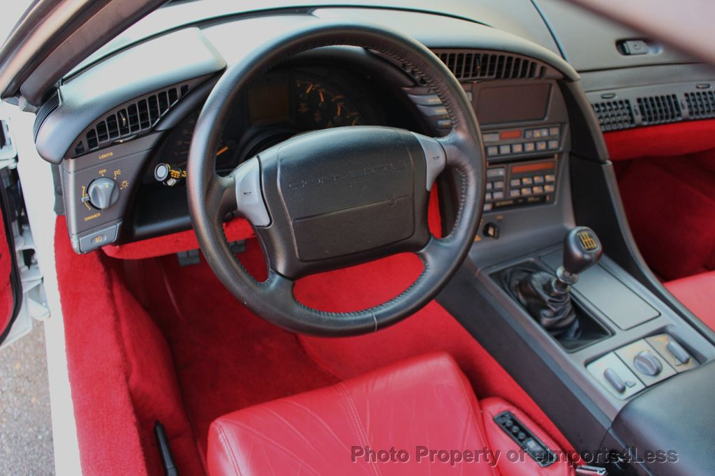 1991 Chevrolet Corvette CORVETTE ZR-1 COUPE - 16417235 - 23