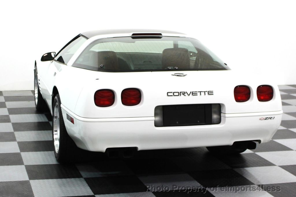 1991 Chevrolet Corvette CORVETTE ZR-1 COUPE - 16417235 - 64