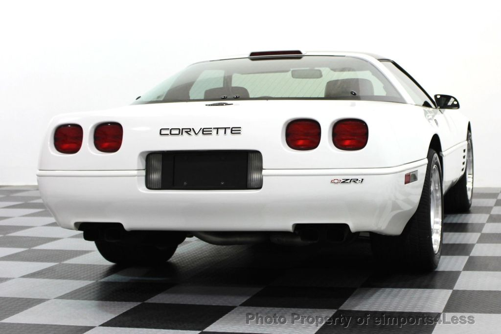 1991 Chevrolet Corvette CORVETTE ZR-1 COUPE - 16417235 - 74