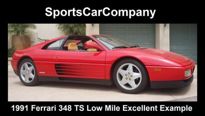 1991 Ferrari 348 TS - Click to see full-size photo viewer