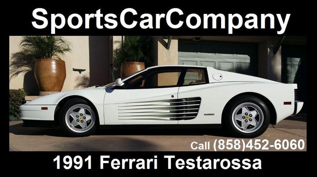 1991 Ferrari Testarossa TESTAROSSA - 16803482 - 1