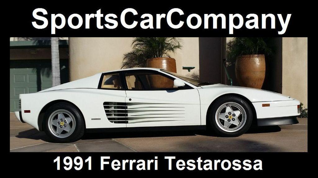 1991 Ferrari Testarossa TESTAROSSA - 16803482 - 2