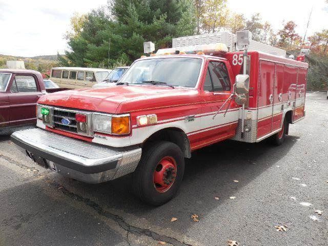 1991 Ford F-450 Super Duty FIRE RESCUE