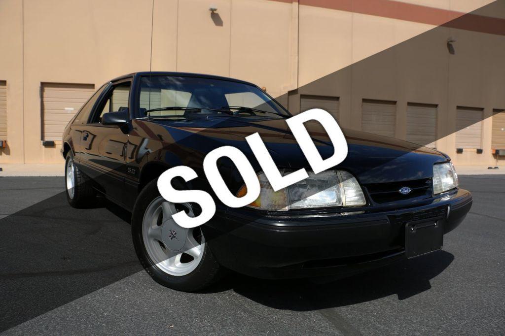 1991 Ford Mustang 2dr Hatchback LX Sport 5.0L - 17741566 - 0