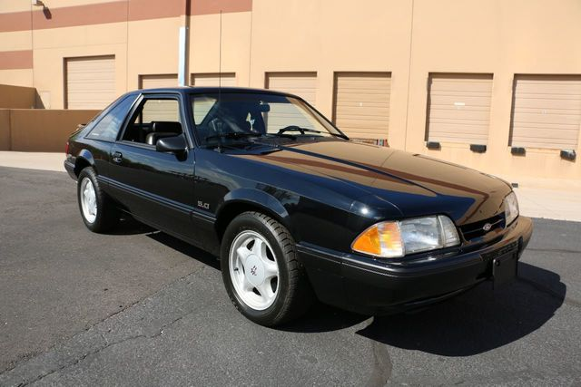 1991 Ford Mustang 2dr Hatchback LX Sport 5.0L - Click to see full-size photo viewer