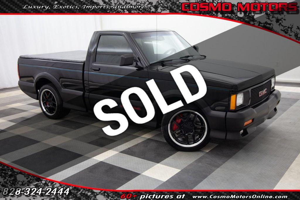 1991 Gmc Sonoma Syclone 6 Awd Truck Regular Cab Standard Bed For Sale Hickory Nc 43 997 Motorcar Com