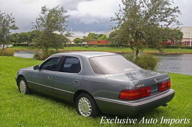 1991 Lexus LS 400 1991 LEXUS LS400 SEDAN AUTOMATIC LOW MILES V8 COLD A/C - Click to see full-size photo viewer