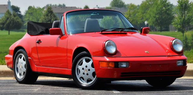 1991 Porsche 911 Carrera 2dr Coupe 2 Cabriolet Tiptronic - Click to see full-size photo viewer