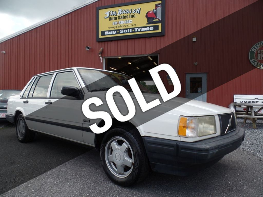 1991 Used Volvo 740 Se At Jim Babish Auto S Inc Serving Johnstown Pa Iid 19316955