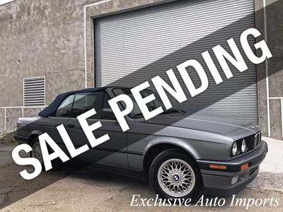 1992 BMW 3 Series E30 325i CONVERTIBLE 5-SPEED MANUAL RARE VINTAGE