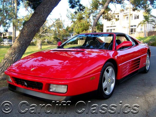 1992 used ferrari 348 ts targa at cardiff classics serving encinitas iid 11358308. Black Bedroom Furniture Sets. Home Design Ideas