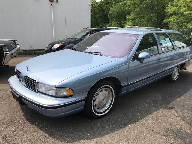 1992 Oldsmobile Custom Cruiser 4dr Wagon 3 Seat