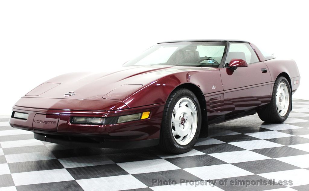 1993 Chevrolet Corvette CORVETTE 40TH Anniversary Coupe 6 SPEED 2 TOPS - 16417236 - 0