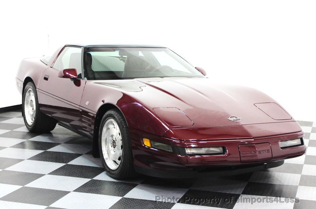 1993 Chevrolet Corvette CORVETTE 40TH Anniversary Coupe 6 SPEED 2 TOPS - 16417236 - 1
