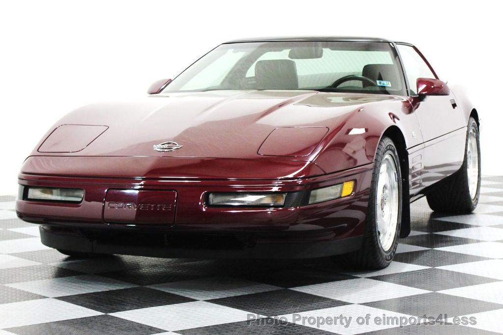 1993 Chevrolet Corvette CORVETTE 40TH Anniversary Coupe 6 SPEED 2 TOPS - 16417236 - 20