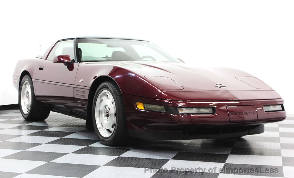1993 Chevrolet Corvette CORVETTE 40TH Anniversary Coupe 6 SPEED 2 TOPS - 16417236 - 21