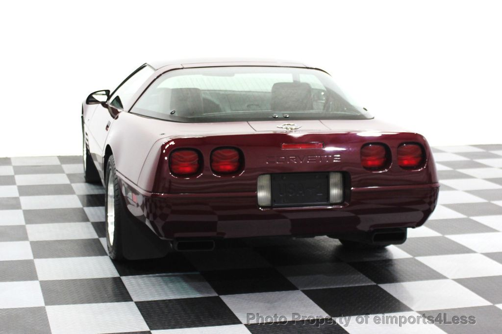1993 Chevrolet Corvette CORVETTE 40TH Anniversary Coupe 6 SPEED 2 TOPS - 16417236 - 22