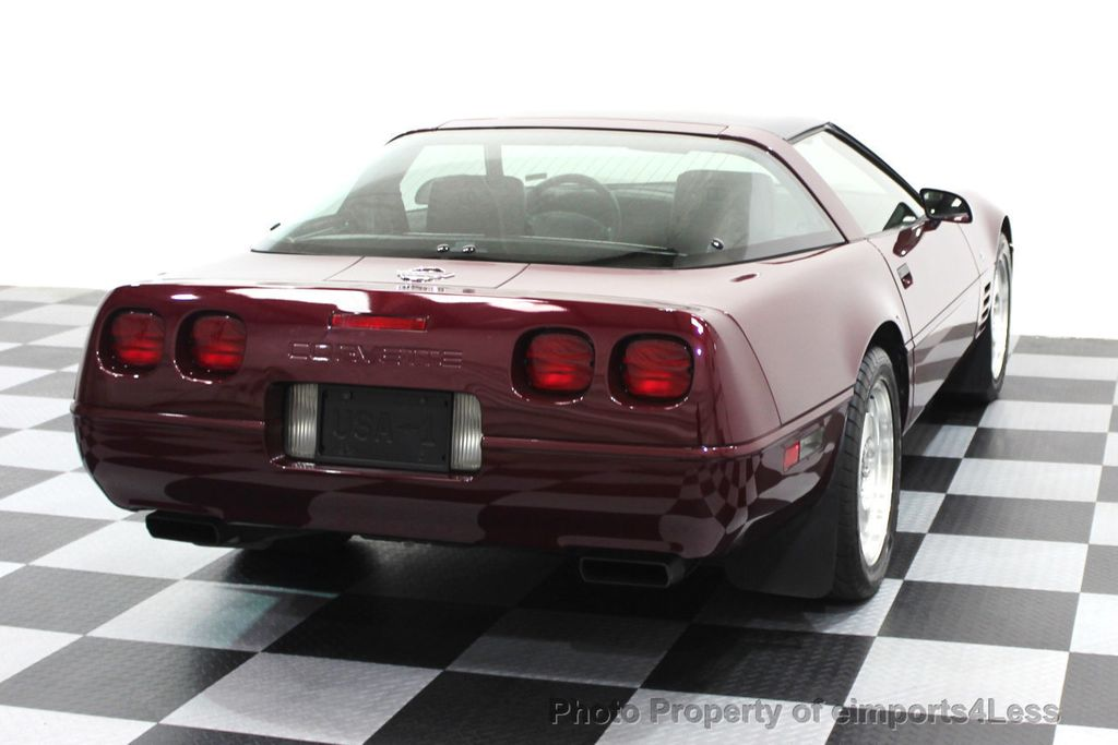 1993 Chevrolet Corvette CORVETTE 40TH Anniversary Coupe 6 SPEED 2 TOPS - 16417236 - 24