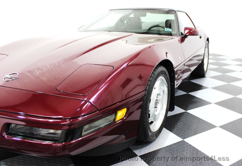 1993 Chevrolet Corvette CORVETTE 40TH Anniversary Coupe 6 SPEED 2 TOPS - 16417236 - 31
