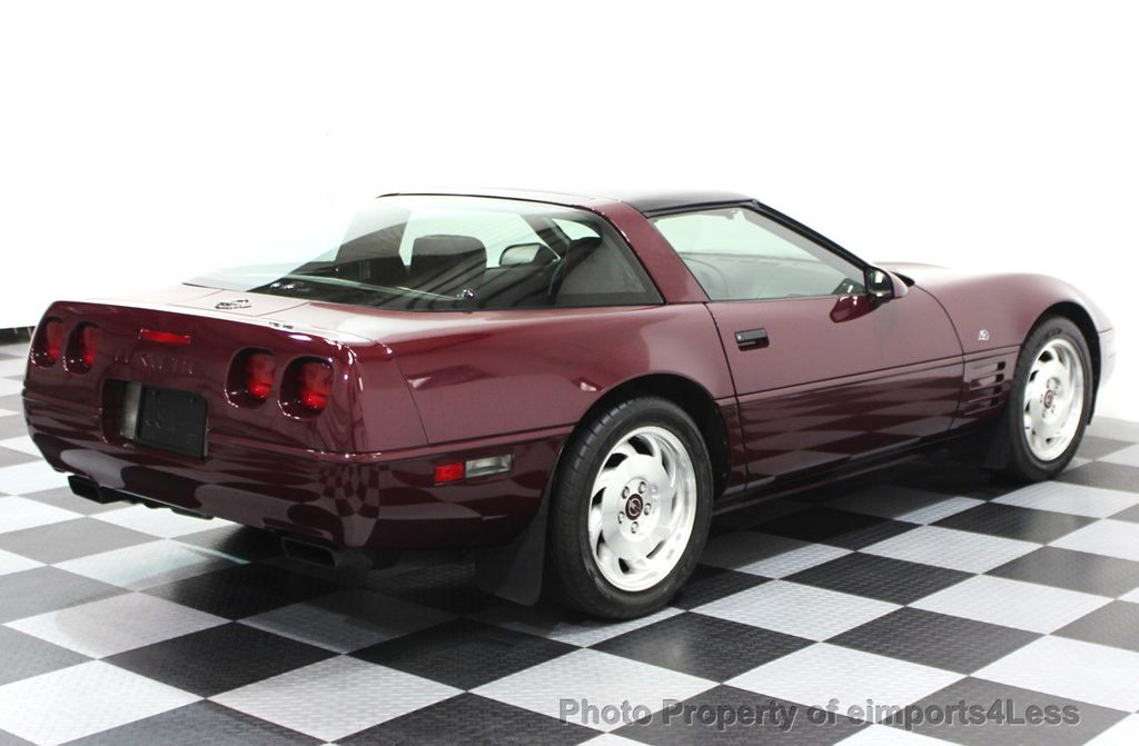 1993 Chevrolet Corvette CORVETTE 40TH Anniversary Coupe 6 SPEED 2 TOPS - 16417236 - 3