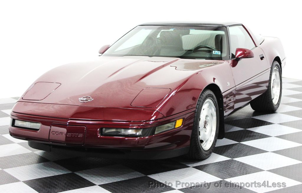 1993 Chevrolet Corvette CORVETTE 40TH Anniversary Coupe 6 SPEED 2 TOPS - 16417236 - 45