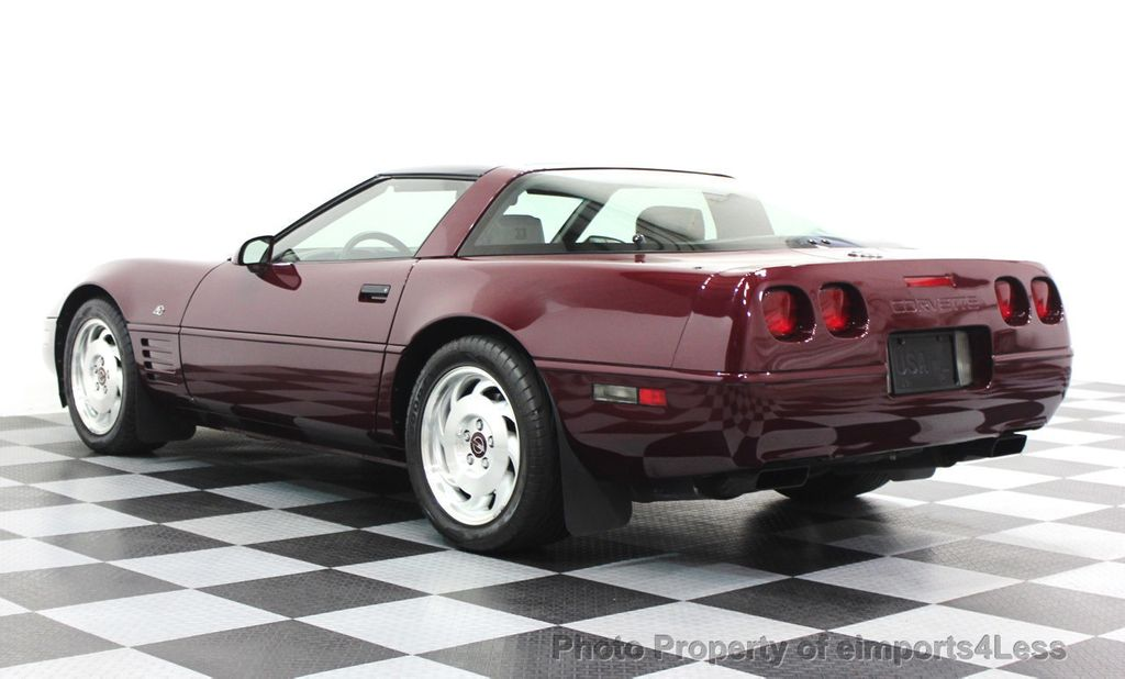 1993 Chevrolet Corvette CORVETTE 40TH Anniversary Coupe 6 SPEED 2 TOPS - 16417236 - 48