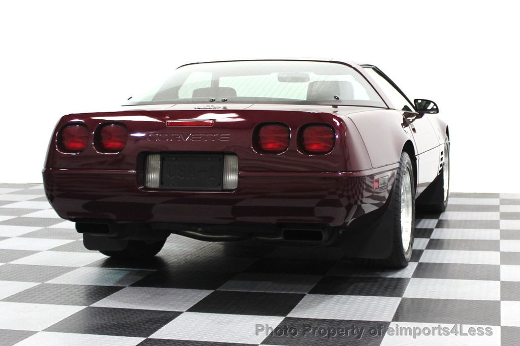 1993 Chevrolet Corvette CORVETTE 40TH Anniversary Coupe 6 SPEED 2 TOPS - 16417236 - 50
