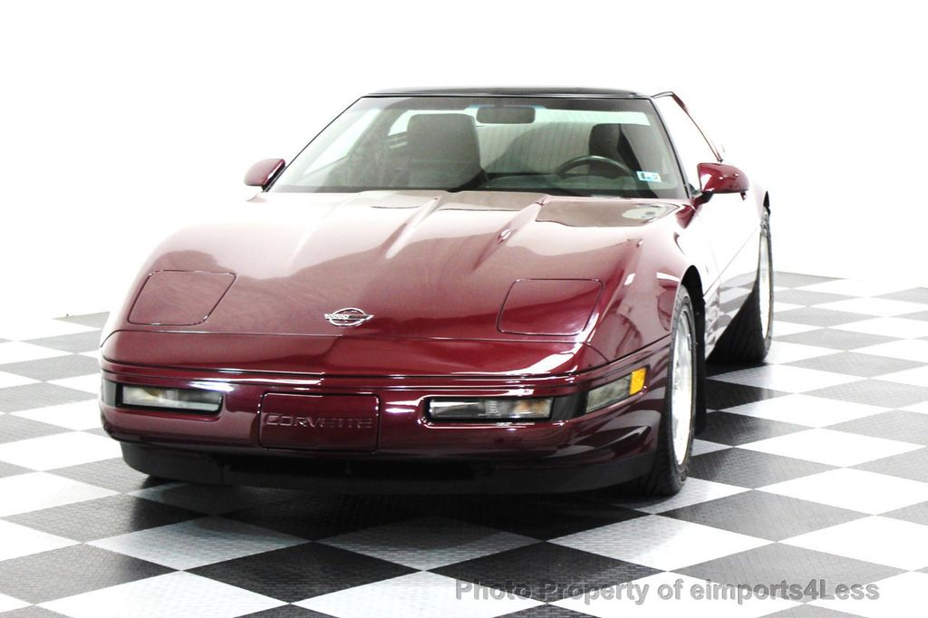 1993 Chevrolet Corvette CORVETTE 40TH Anniversary Coupe 6 SPEED 2 TOPS - 16417236 - 51
