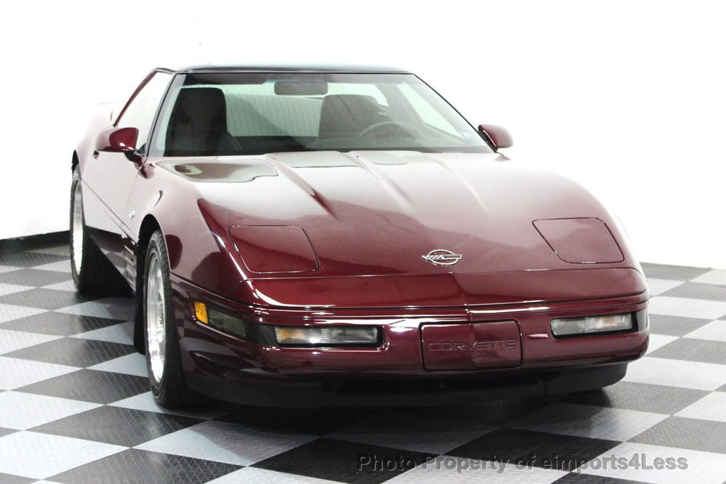 1993 Chevrolet Corvette CORVETTE 40TH Anniversary Coupe 6 SPEED 2 TOPS - 16417236 - 70