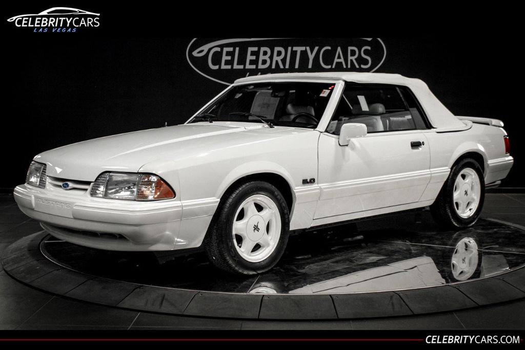 1993 Used Ford Mustang Lx 50l V8 185 Miles At Celebrity Cars Las