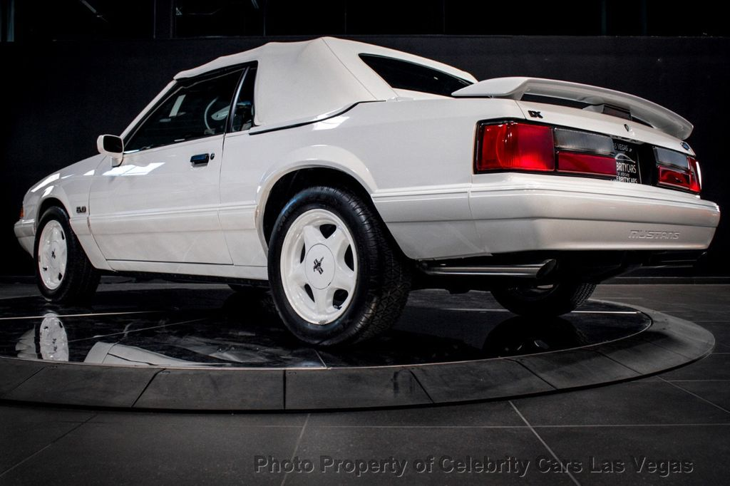 1993 Ford Mustang LX 5.0L V8   185 Miles!!! - 17978944 - 12