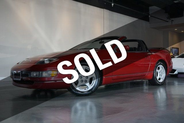 1993 Nissan 300ZX 2dr Convertible 5-Speed w/Leather Seats