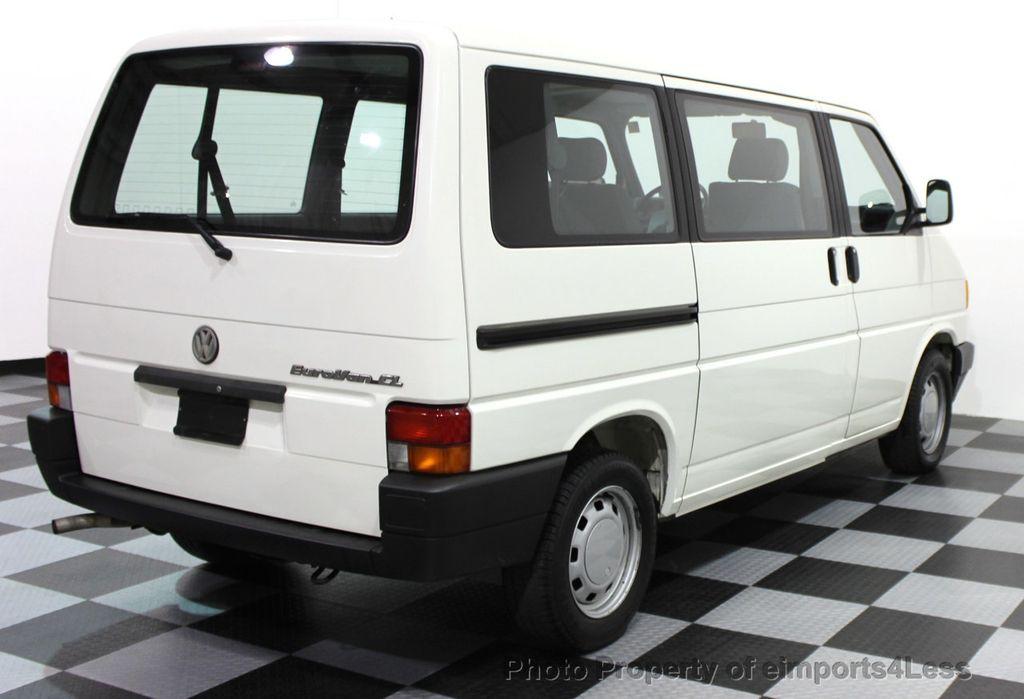 1993 Volkswagen Eurovan Cl 7 Penger Minivan 15812076 20