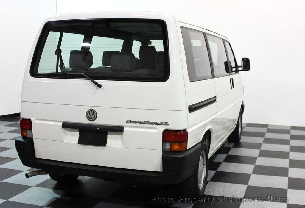 1993 Volkswagen Eurovan Cl 7 Penger Minivan 15812076 35