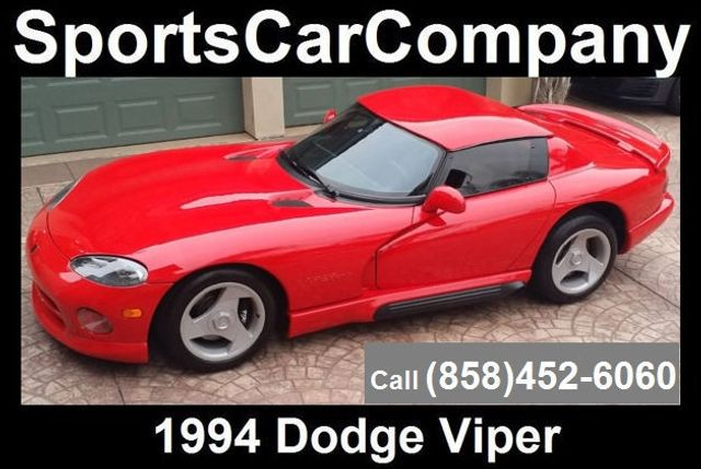 1994 Dodge VIPER RT/10 ROADSTER  - 16384478 - 1