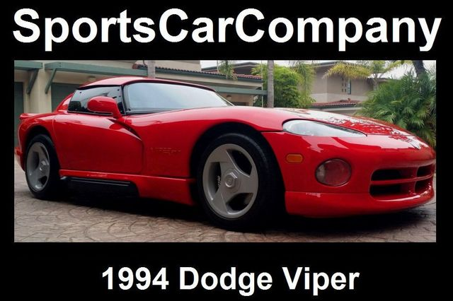 1994 Dodge VIPER RT/10 ROADSTER  - 16384478 - 2