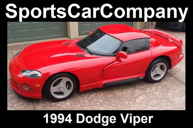1994 Dodge VIPER RT/10 ROADSTER  - 16384478 - 38