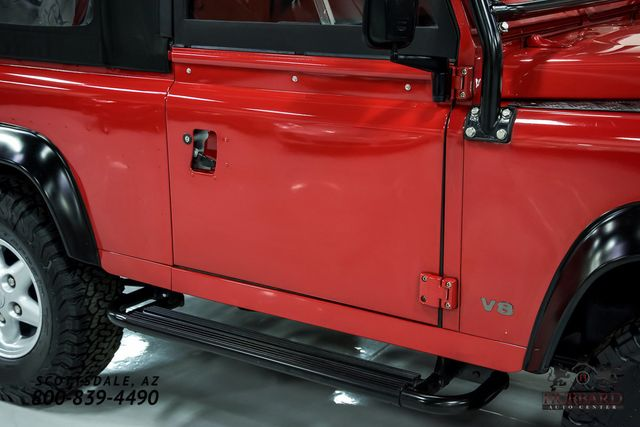1994 Land Rover Defender 90 2dr Convertible - Click to see full-size photo viewer