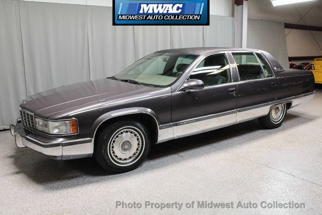 1995 Cadillac Fleetwood >> 1995 Cadillac Fleetwood Brougham Southern Rust Free Leather Lt1 Sedan For Sale Sycamore Il 13 995 Motorcar Com