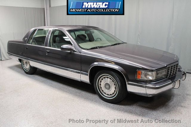 1995 Cadillac Fleetwood >> 1995 Used Cadillac Fleetwood Brougham Southern Rust Free Leather Lt1 At Midwest Auto Collection Serving Sycamore Il Iid 17982658