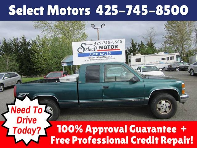 1995 Used Chevrolet C K 1500 Series K1500 Silverado 2dr 4wd Extended Cab Stepside Sb At Select Motors Auto Sales Serving Lynnwood Wa Iid 17606535