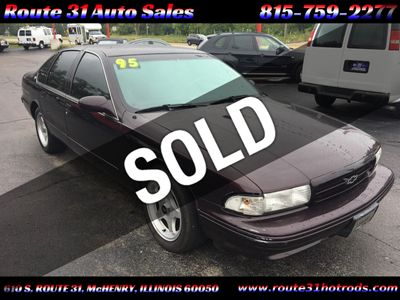 1995 Chevrolet Impala SS 4dr Sedan - Click to see full-size photo viewer