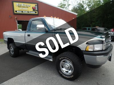 1995 Dodge Ram 2500 SLT Regular Cab Long Bed 4x4 Truck