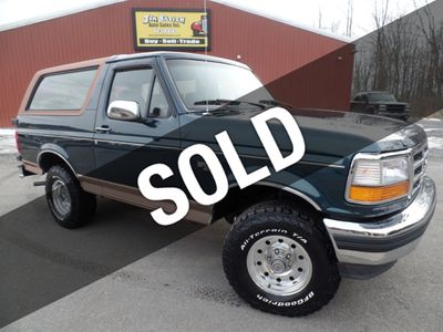 1995 Ford Bronco Eddie Bauer 4x4 - Click to see full-size photo viewer