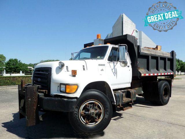 Used Dump Trucks >> 1995 Used Ford F 800 Dump Truck At Galleria Motors Inc Serving